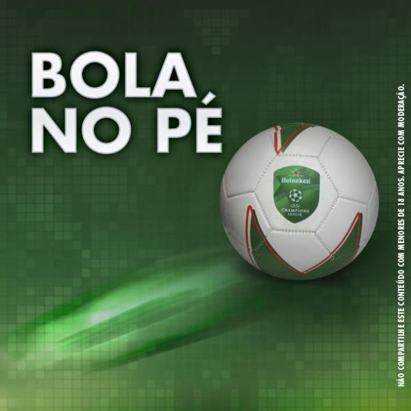 Imagem Bola Heineken FuteRock