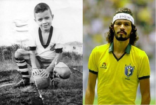ac87e366ff Fotos dos craques da bola quando criança  Kaká