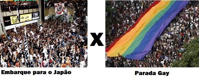Pouco menos de 1% dos corinthianos que foram à Parada Gay ...