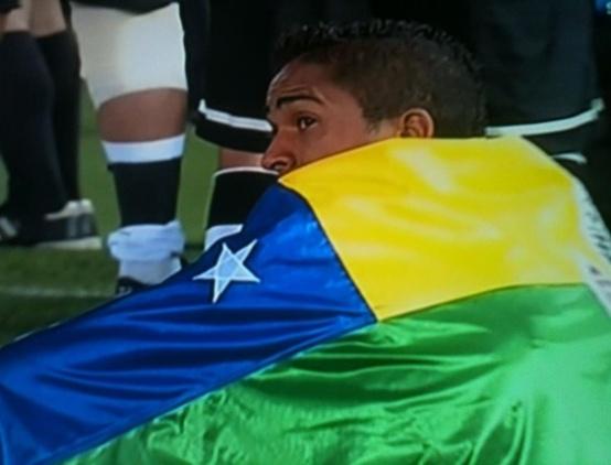Jorge Henrique do Corinthians com bandeira de Sergipe-FuteRock