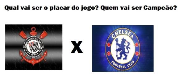 Corinthians X Chelsea-Mundial de Clubes-Fifa-Japão-FuteRock