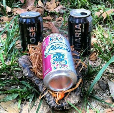 novo presépio Coca Cola e guaraná Jesus-FuteRock
