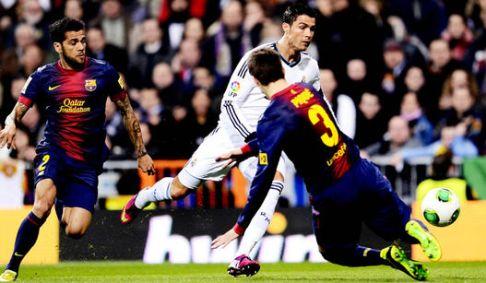 Real Madrid X Barcelona - Cristiano Ronaldo - FuteRock