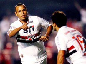 São Paulo-Luis Fabiano-Libertadores-FuteRock