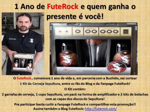 Promoção 1 Ano de FuteRock
